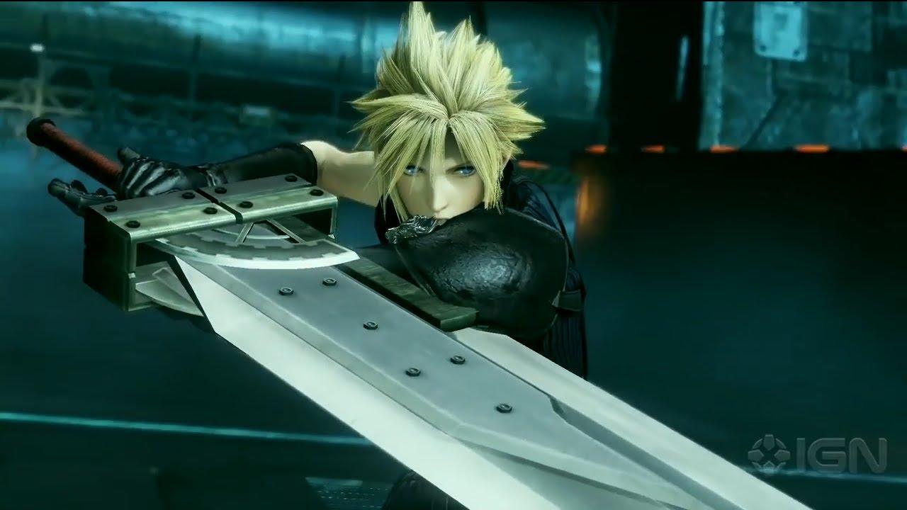 Dissidia Final Fantasy NT - Cloud Strife gameplay - YouTube