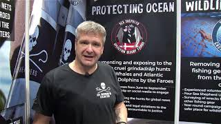 DIVE 2018 Review: Marc Muschamp talks to Scubaverse about Sea Shepherd's Ghost Net Campaign