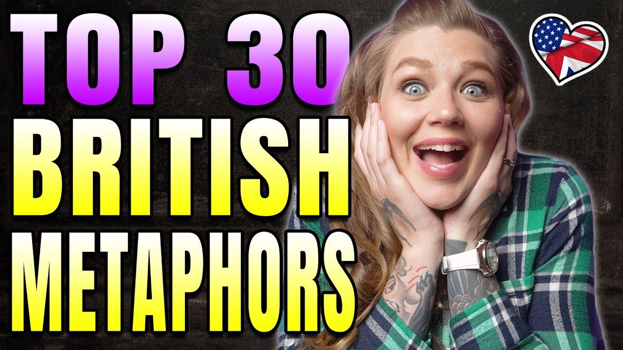 BEST BRITISH SLANG PHRASES | 30 BRITISH METAPHORS AND EUPHEMISMS | AMANDA RAE | AMERICAN IN THE UK