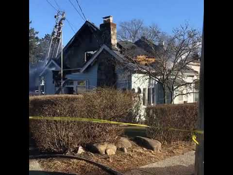 A fire broke out in Mount Vernon on Monday, Feb. 25.