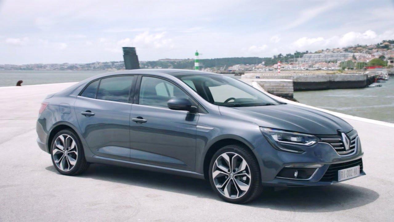 New Renault Megane Sedan Youtube