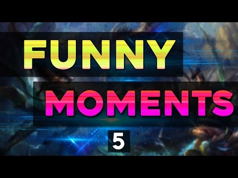 Funny Moments #5 German - League of Legends