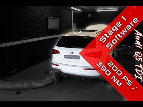 Audi Q5 2.0 TDI | Stage 1 | Dyno Run | SimonMotorSport | #260