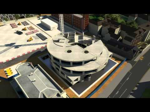 Blavatnik School of Government new building animation