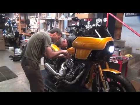 2014 1st Start Up Harley FXR Show Bike 111ci S&S Motor
