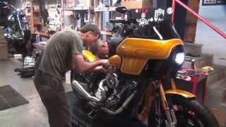 2014 1st start up Harley FXR show bike 111ci S&S motor