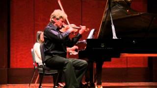 Tchaikovsky Neapolitan Dance-Song | Piotr Milewski - violin, Sandra Rivers - piano