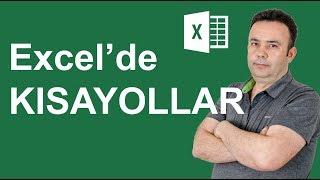 Excel'in bu kısayol tuşları çok işinize yarayacak (Excel kısayolları)- Ömer BAĞCI- 510
