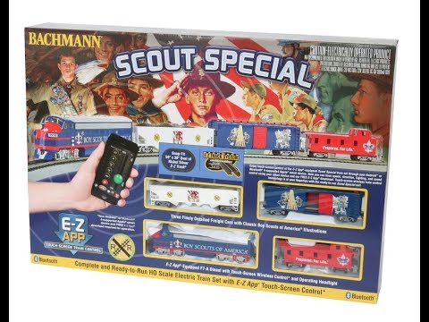 Scout Special with E-Z App® Train Control