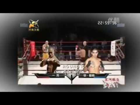 in Las Vegas Shaolin vs Marine!!