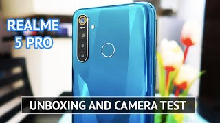 Realme 5 Pro UNBOXING and CAMERA TEST