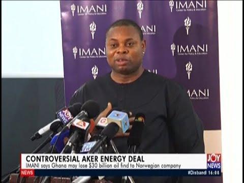 Controversial Aker Energy Deal - The Pulse on JoyNews (25-4-19)