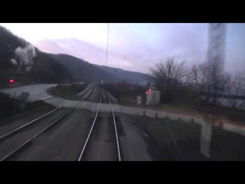Train Driver's view: railroad in Serbia from Korman to Djunis - SERBIAN RAILWAYS