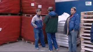 Задержание мигрантов на строительном рынке в Мытищи.
