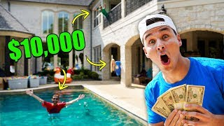 EXTREME Hide And Seek In Prestons House For $10,000!