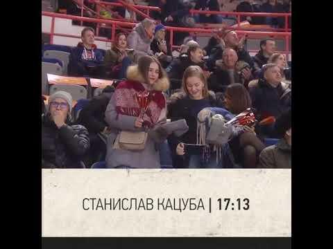 Сын министра финансов Хабаровского края Станислав Кацуба забил первый гол в КХЛ