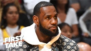 LeBron has earned the respect to call for action on the Kyle Lowry push - Max Kellerman | First Take