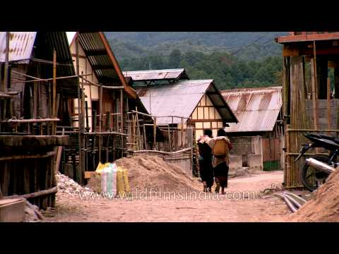 Ziro Valley in the lower hills of Arunachal Pradesh