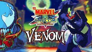 EAT YOUR BRAINS: Venom Arcade - Marvel Vs Capcom Clash Of Super Heroes