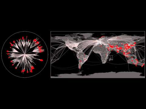 The hidden patterns in complex global disease dynamics : Outbreak Atlanta