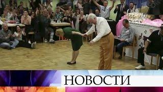 Видео станцующими буги-вуги пенсионерами изГермании собрало миллионы просмотров.