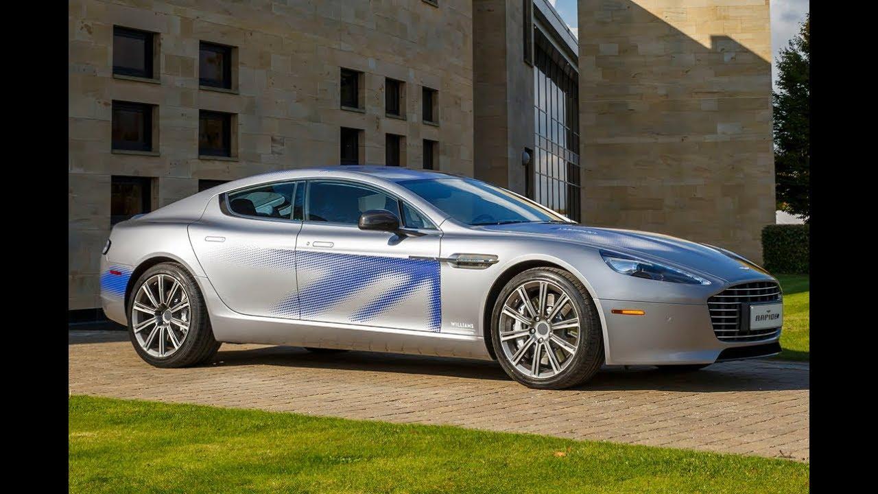 2019 Aston Martin Rapide E All Electric Sports Car Youtube