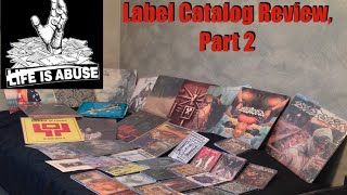 Video Life Is Abuse: Label Catalog Review, Part 2 download MP3, 3GP, MP4, WEBM, AVI, FLV Juli 2018