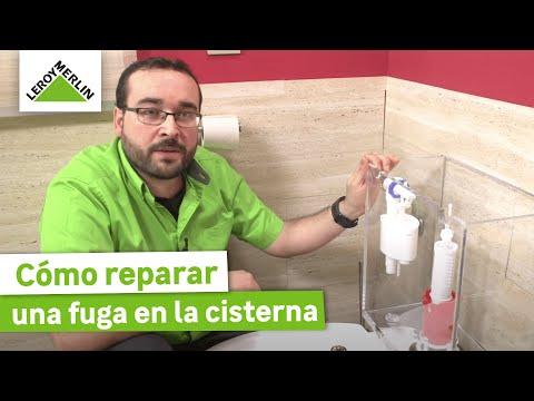 Cómo reparar una fuga en la cisterna (Leroy Merlin)