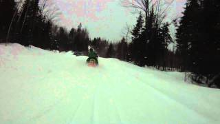 Hurley, WI Snowmobiling