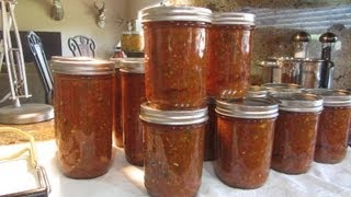 Preppers Home Can Salsa From Start To Finish