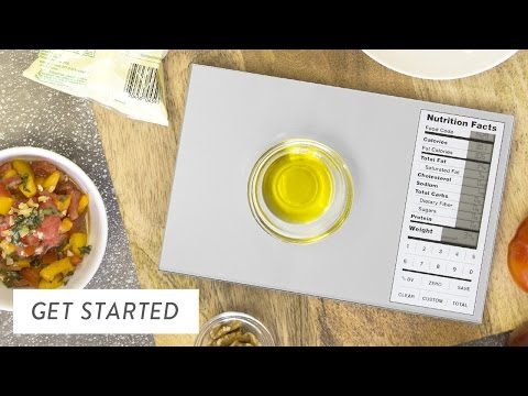 Nourish Perfect Portions Scale 0450, 0452 – Getting Started
