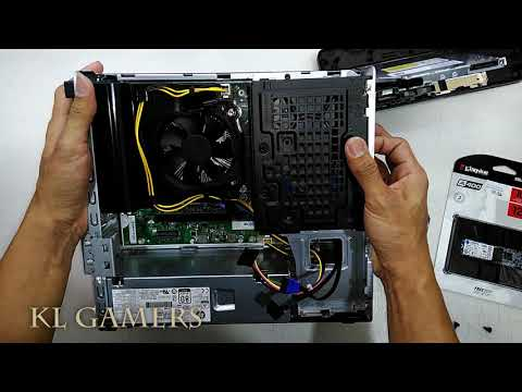 HP Slim 290-p0040d DT PC AP SFF Desktop Upgrade RAM and M.2 SSD 2019