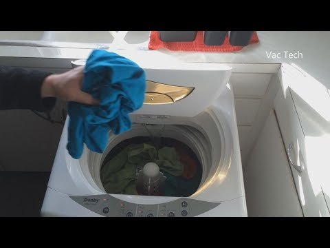 Another Demo of the BEST Portable Washing Machine - Danby Co