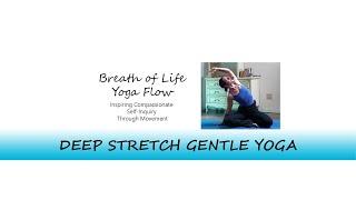 Deep Sretch Gentle Yoga | 60 Minutes | Breath of Life Yoga Flow