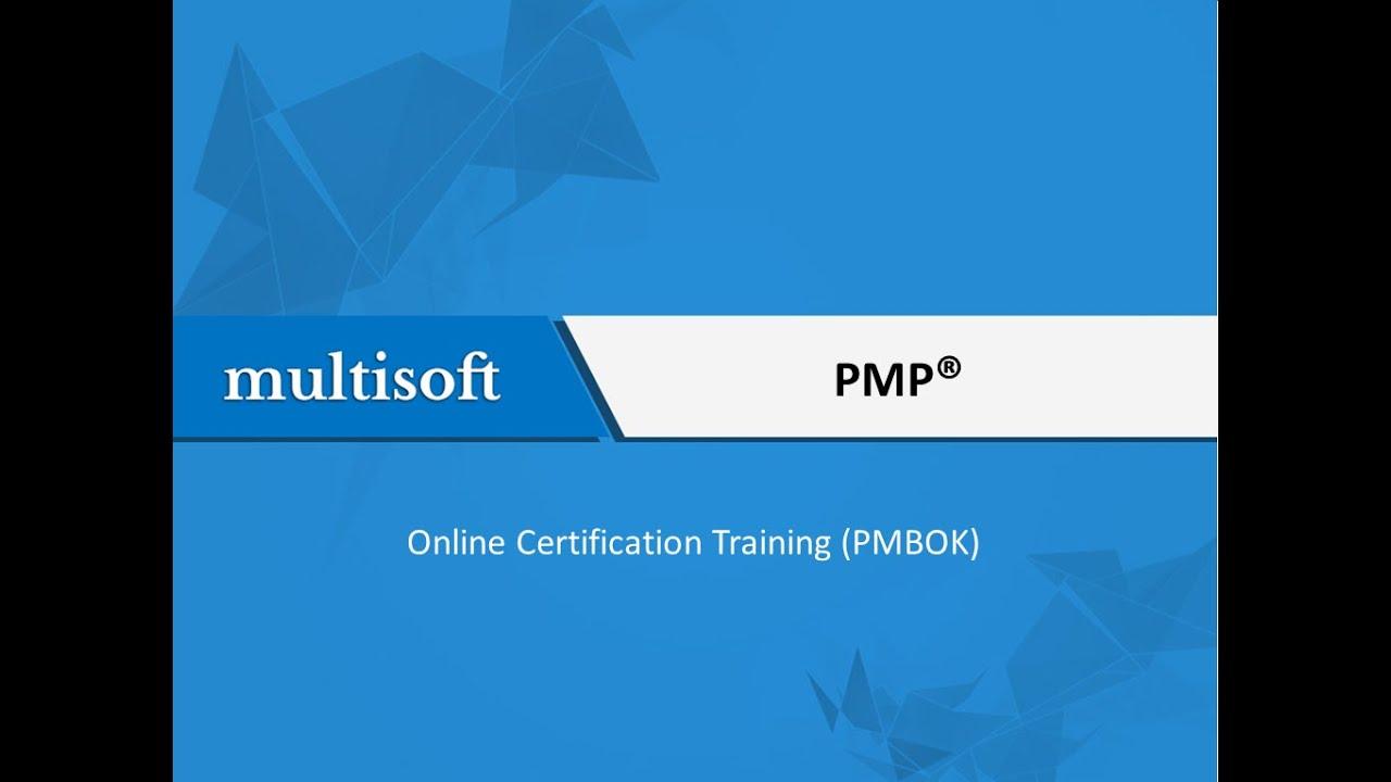 Pmp Online Certification Training Pmbok Multisoft Virtual
