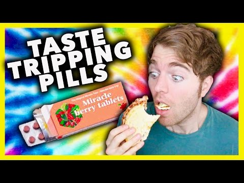 TASTE TRIPPING PILL TEST!