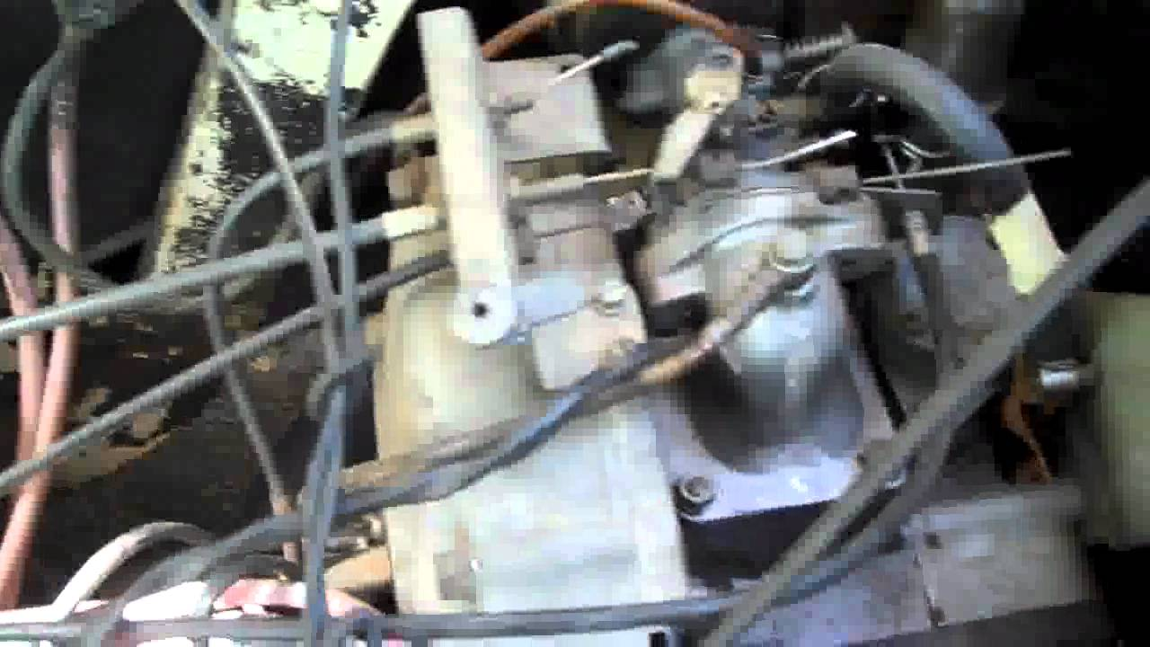 New golfcart EZGO 2 stroke - 7/27/11 - YouTube