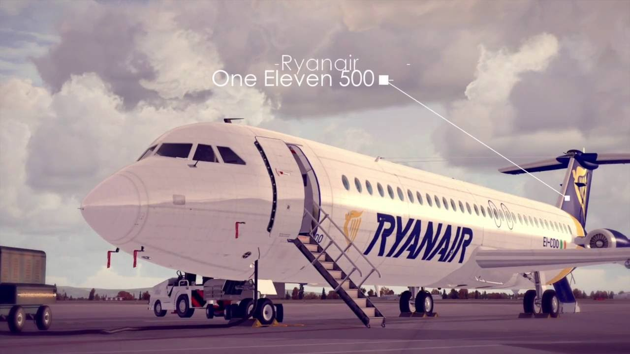 Just Flight - One-Eleven 300/400/500