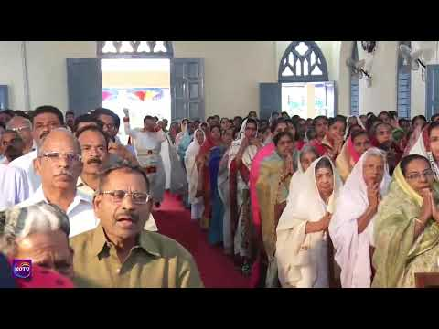 KVTV -KVTVLIVE Telecast Of Kattachira St.Marys Church Feast 1st day 2017 part 1