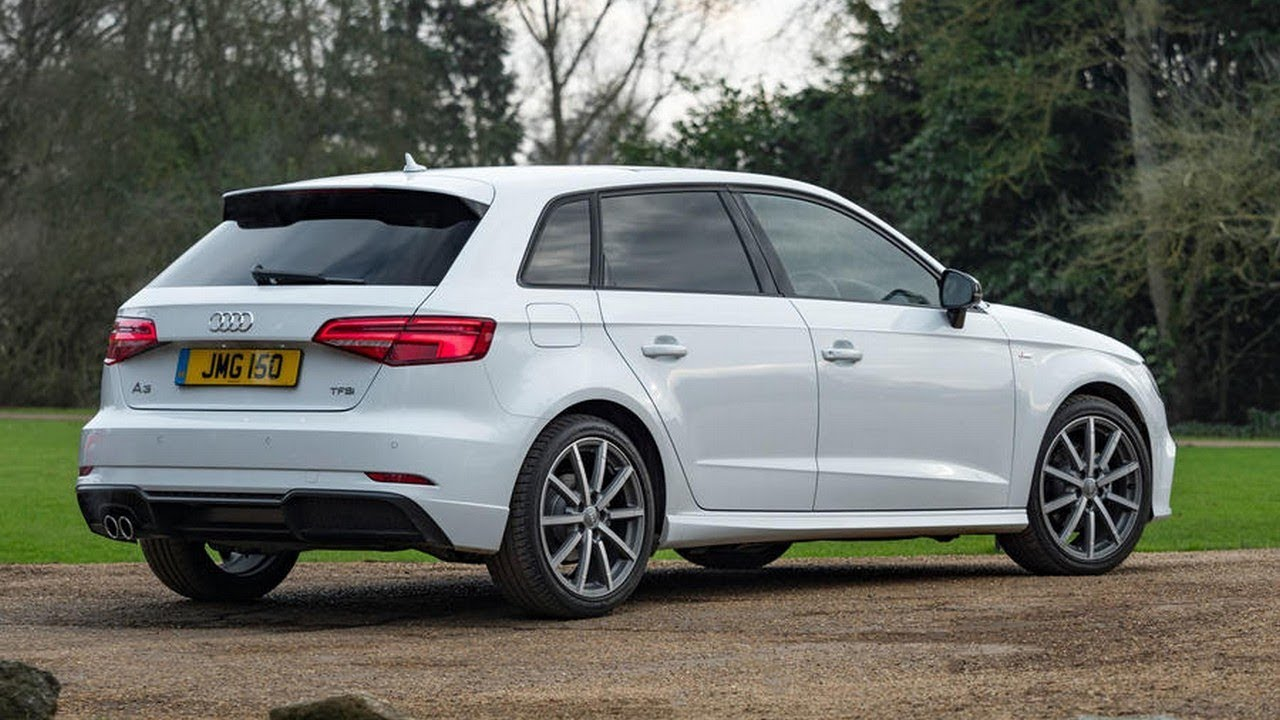 audi a3 sportback black edition 2018 now comes with a 148bhp 1 5 petrol engine youtube. Black Bedroom Furniture Sets. Home Design Ideas