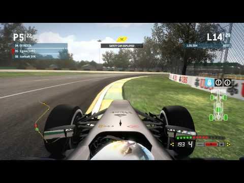 F1 2013 online race, Australia 50%, AI Legend