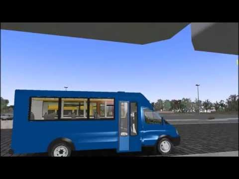 Omsi 2 GAZel Biznes Ruta Pack