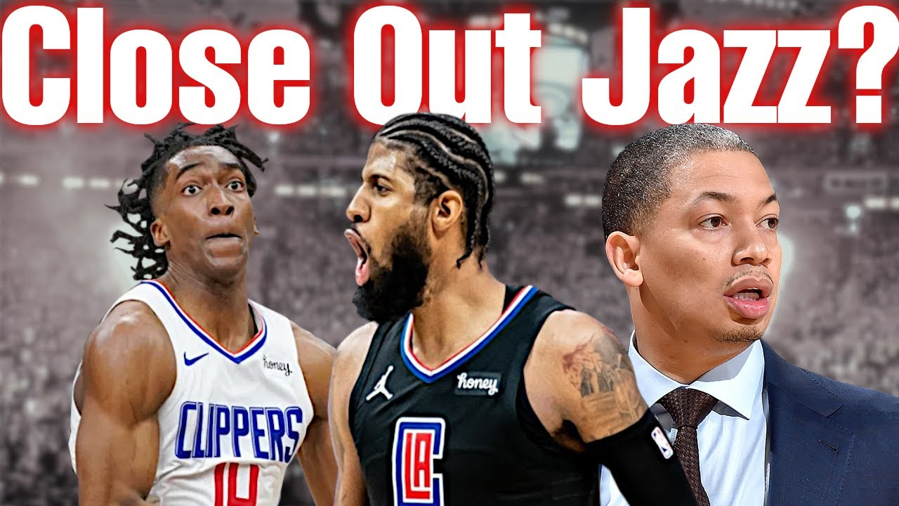 Can The LA Clippers Close Out The Utah Jazz Behind Paul George Without Kawhi?   PG Becomes Playoff P