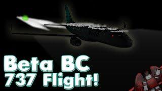 Beta Business Class 737 Flight! | Roblox