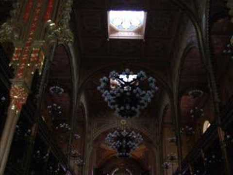 The Dohany Street Synagogue in Budapest