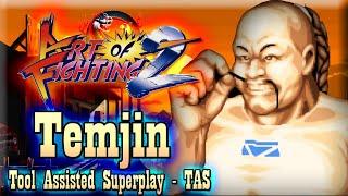 【TAS】ART OF FIGHTING 2 (RYUUKO NO KEN 2) - TEMJIN