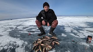 Рыбалка на озере Арахлей 15 марта зимняя рыбалка 2020