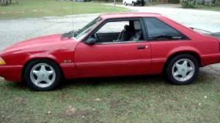 1991 5 0 mustang foxbody e cam exhaust