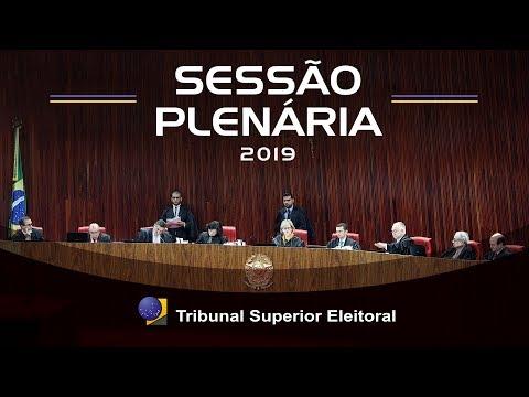 Sessão de abertura do Ano Judiciário Eleitoral 2019