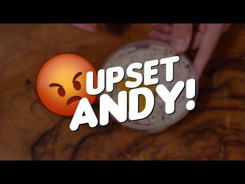 Upset Andy